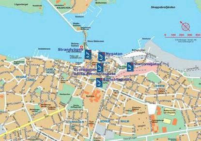 karta västervik Karta Centrum   Bostadsbolaget Västervik karta västervik